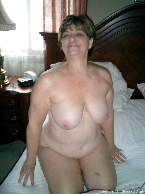 Big brown naked tits